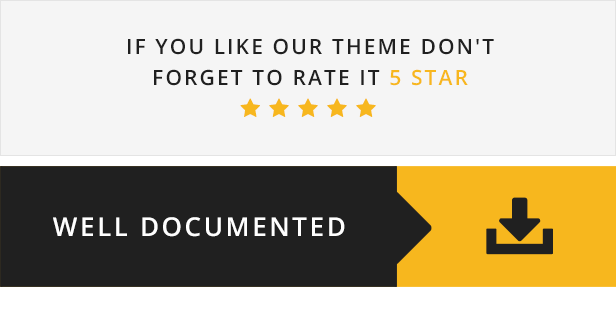 Remould WordPress Theme - 5 star ratings and Well Documentated